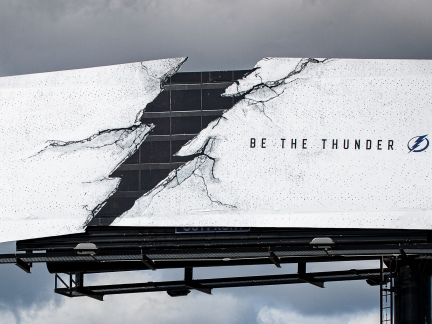 Tampa Bay Lightning | Struck Billboard